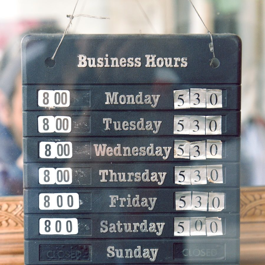 Dry Cleaners Business Hours