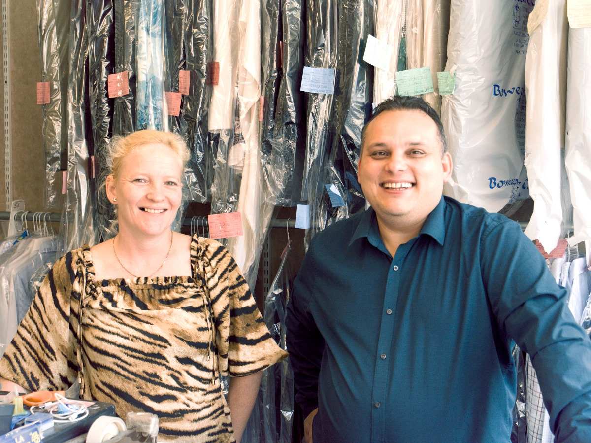Dry Cleaning East Grinstead Christina and Attila